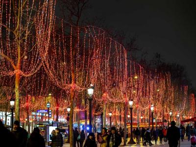 Paris - Sortie vélo - découverte des marchés de Noël